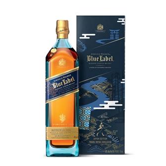 尊尼获加蓝方威士忌  日本免税店限定版 750ml