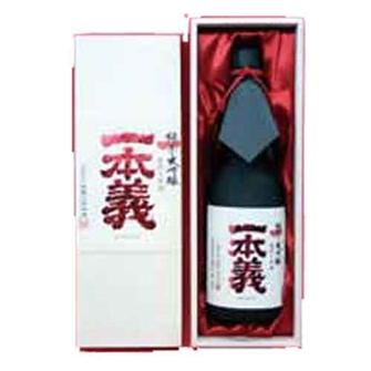 一本義 纯米大吟酿 袋吊雫酒 720ml
