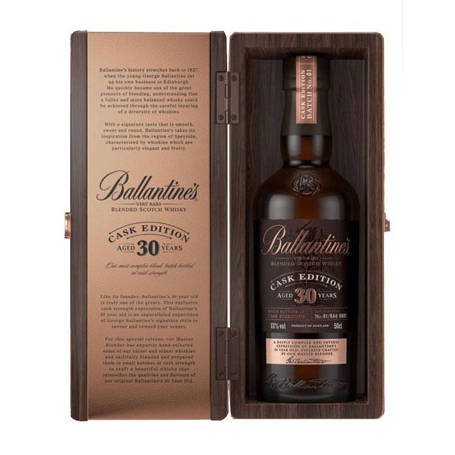 BALLANTINE'S 30 YEAR OLD CASK EDITION 500ml