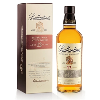 BALLANTINE'S 12 YEAR OLD PURE MALT 700ml