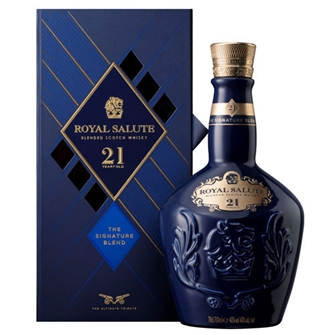 ROYAL SALUTE 21 YEAR OLD THE SIGNATURE BLEND 700ml
