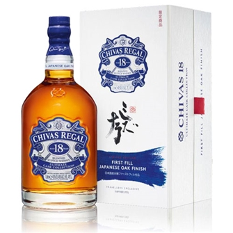 CHIVAS REGAL 18 YEAR OLD ULTIMATE CASK COLLECTION 1000ml