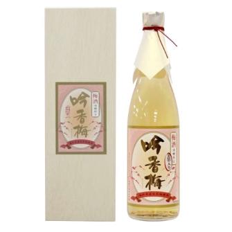 GINKOBAI UMESHU with Gold leaf 720ml