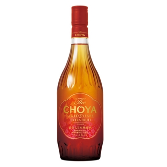 The CHOYA AGED 3 YEARS EXTRA FRUIT 720ml