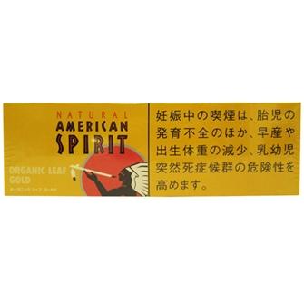 NATURAL AMERICAN SPIRIT ORGANIC LEAF GOLD 6mg