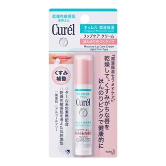 Curél Moisture Lip Care Cream Light Pink 4.2g