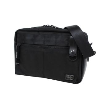 HEAT SHOULDER BAG BLACK 703-07970