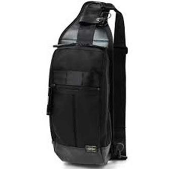 HEAT ONE SHOULDER BAG BLACK 703-08000
