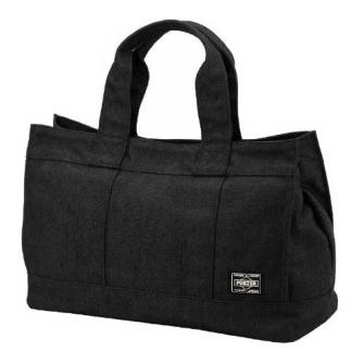 SMOKY TOTE BAG (S) BLACK 592-06577