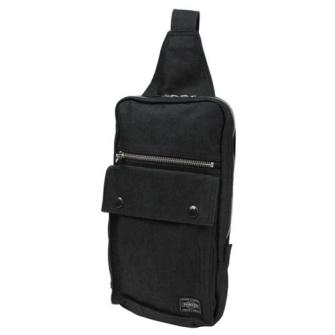 SMOKY ONE SHOULDER BAG BLACK 592-07531