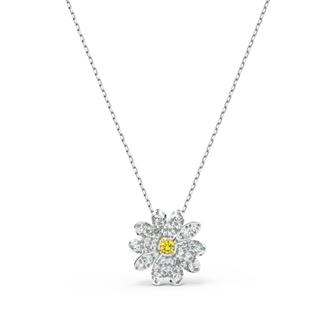 【SALE】Eternal Flower Pendant, Yellow, Mixed metal finish 5512662