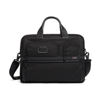 【SALE】ALPHA 3 Expandable Organizer Laptop Brief 2603141D3 Black