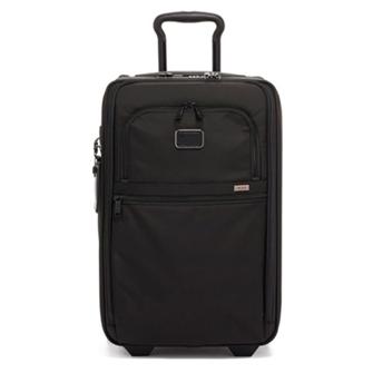 【SALE】ALPHA 3 International Expandable 2 Wheeled Carry-On 2203020D3 Black