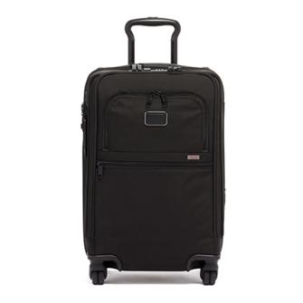 【SALE】ALPHA 3 International Office 4 Wheeled Carry-On 2203616D3 Black