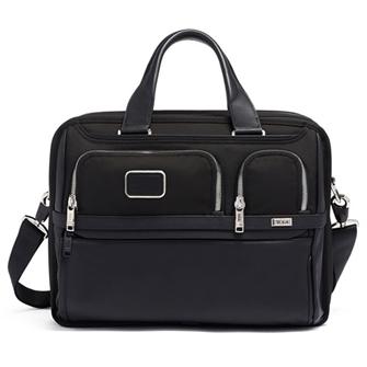 【SALE】ALPHA 3 Expandable Organizer Laptop Brief 2603141DCH3 Black