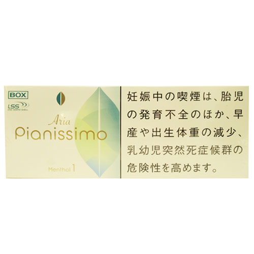 PIANISSIMO ARIA MENTHOL 1mg