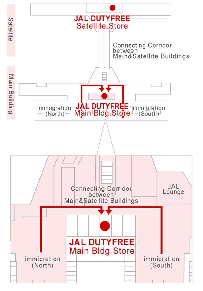 本館店 マップ
