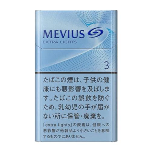 MEVIUS エクストラライト KS BOX 3mg