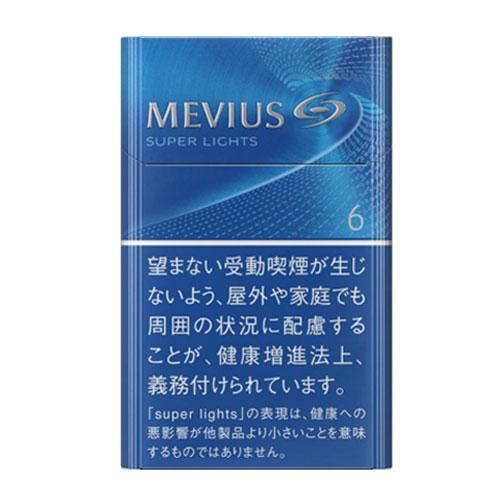 MEVIUS スーパーライト  KS BOX 6mg