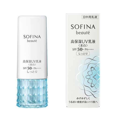 ソフィーナ ボーテ 高保湿UV乳液<美白> SPF50 しっとり 30ml
