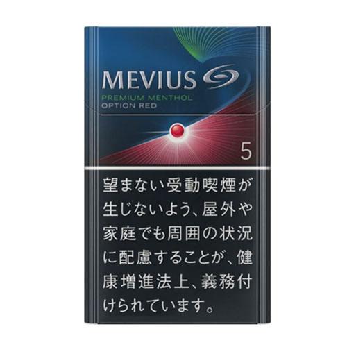 MEVIUS プレミアム メンソール OPTION レッド 5 KS BOX 5mg