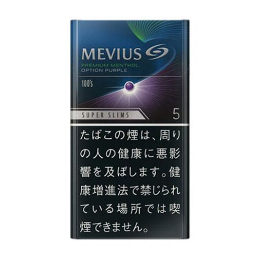 MEVIUS プレミアム メンソール OPTION パープル 5 100's スリム 5mg