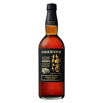 山崎蒸溜所貯蔵 焙煎樽熟成梅酒 WHISKY BLEND リッチアンバー 750ml