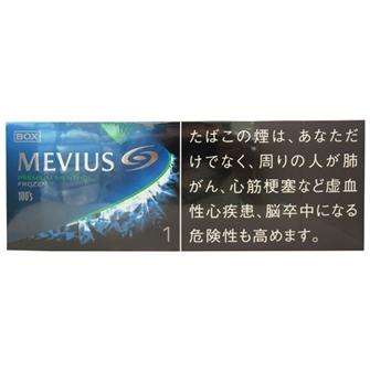 MEVIUS プレミアム メンソール フローズン ワン 100's BOX 1mg