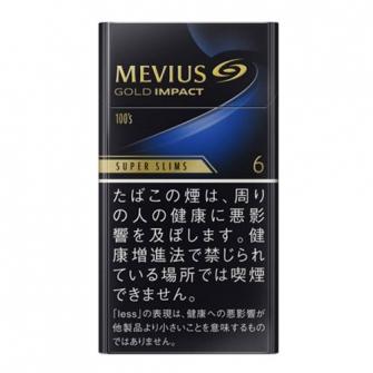 MEVIUS ゴールド インパクト 6 100'S スリム 6mg