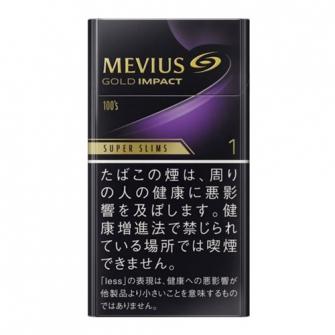 MEVIUS ゴールド インパクト ワン 100'S スリム 1mg