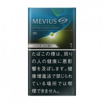MEVIUS プレミアムメンソール オプション マスカットグリーン 1 100's スリム 1mg