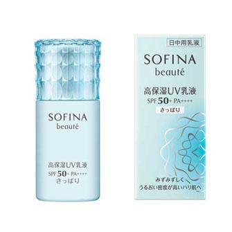ソフィーナ ボーテ 高保湿UV乳液 SPF50 さっぱり 30ml