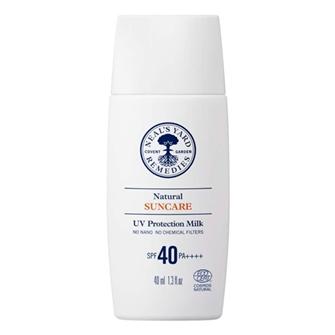 ナチュラル UV プロテクション ミルク SPF40/PA++++ 40ml