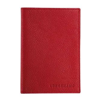 ル フローネ パスポート カバー 3416021608 バーミリオン