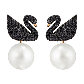 Iconic Swan ジャケットピアス 5374126