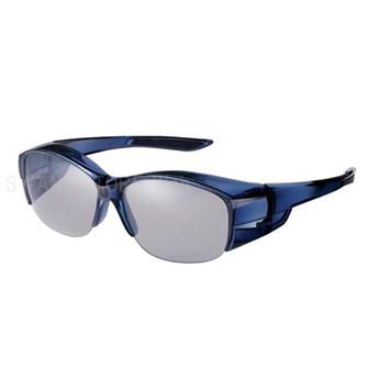 オーバーグラス ハーフリム 偏光レンズモデル OG5-0051 SCLA