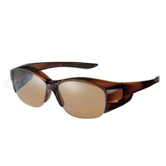 オーバーグラス ハーフリム 偏光レンズモデル OG5-0065 BRCL