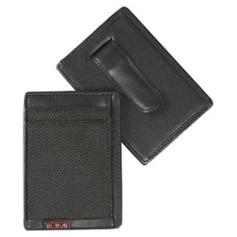 ALPHA マネークリップ・カードケース 19251D ブラック