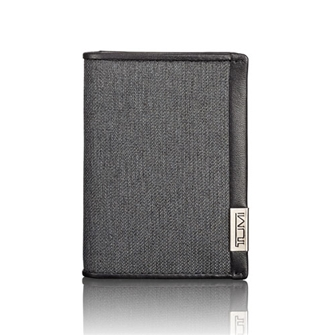 【SALE40%OFF】ALPHA SLG ガセット カードケース 19256ATD アンスラサイト/ブラック
