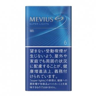 MEVIUS スーパーライト 100's BOX 6mg
