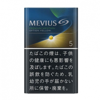 MEVIUS プレミアム メンソール OPTION イエロー KS BOX 5mg