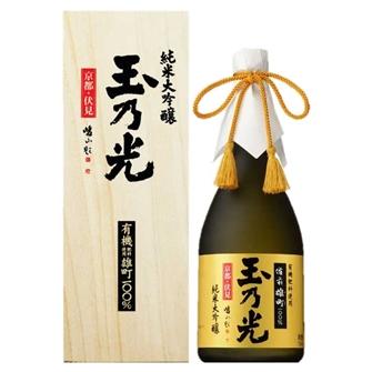玉乃光 純米大吟釀 有機肥料使用雄町100% 720ml