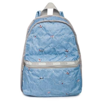 BASIC BACKPACK「FLIGHT TIME DENIM」 7812-K369