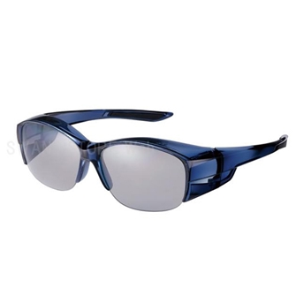 【SALE30%OFF】オーバーグラス ハーフリム 偏光レンズモデル OG5-0051 SCLA