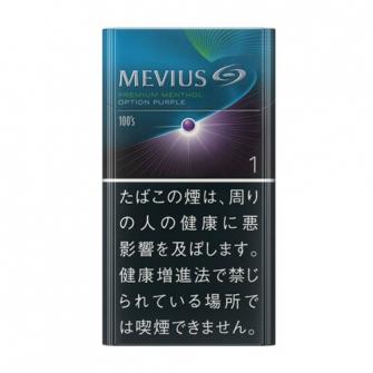 MEVIUS プレミアム メンソール OPTION パープル ワン 100's BOX 1mg