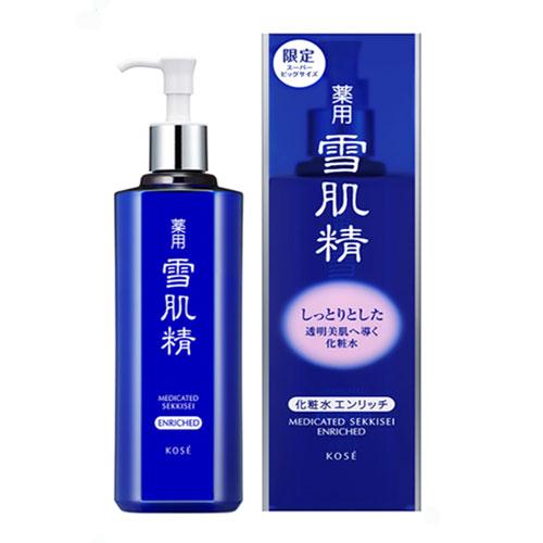 薬用 雪肌精 化粧水 エンリッチ 500ml 【限定品】