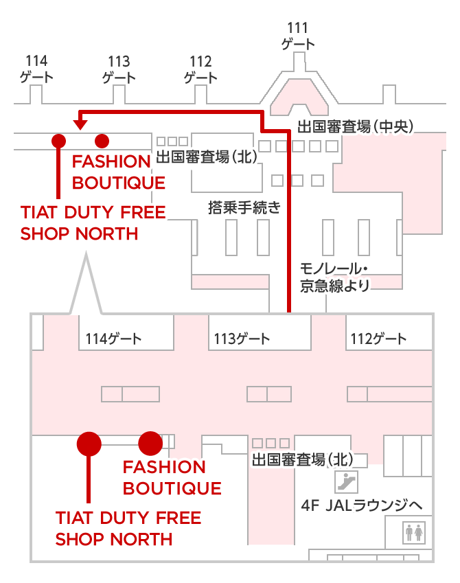 FASHION BOUTIQUE マップ